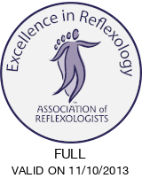 Association of Reflexologists seal